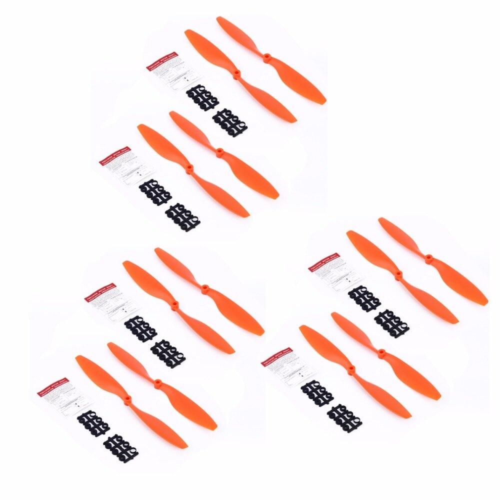 Para DJI F450 F550 Drone DIY Drone accesorios hoja Fans accesorios 12 Uds 1045 hélice 10X45 hoja para A2212 KV1000 Motor 10inc Tapas elásticas de silicona de 6/12 Uds., cubierta de sellado para alimentos, envolturas elásticas reutilizables, cubierta de cuenco de mantenimiento fresco, accesorios de cocina con película protectora