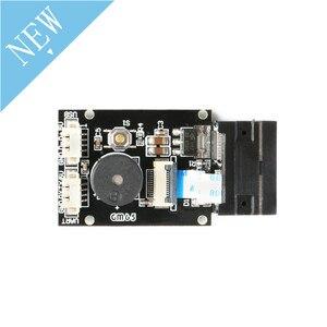 Image 3 - Placa de lectura de código de barras GM65 1D 2D, módulo Lector de escáner de código QR, Kit electrónico USB URAT DIY con conector de Cable CMOS para Arduino