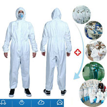 Disposable Protective Clothing Overall Coveralls Workshop Safety Suit Anti-virus safety insulation suit disposable wash clothes
