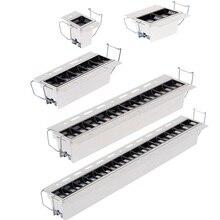 Проектный Точечный светильник Светодиодный линейный светильник s для конференц-зала без полей Osram светодиодный линейный светильник в полоску точечный потолочный Точечный светильник без потолка