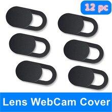 цена на WebCam Cover Shutter Magnet Slider Universal Antispy Camera Cover For Web Laptop iPad PC Macbook Tablet lenses Privacy Sticker