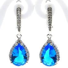 Free Shpping Goddess Face, Paris Blue Topaz 925 Sterling Silver Pendant