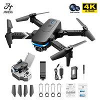 2021 nuovo KY910 Mini Drone con doppia fotocamera 4K HD grandangolo Wifi FPV professionale pieghevole RC elicottero Quadcopter giocattoli regalo