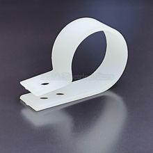 100 шт 23 мм r образный нейлоновый зажим для кабеля пластиковые