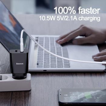 Адаптер питания Baseus с 2 USB-портами, 5 В/2А 3