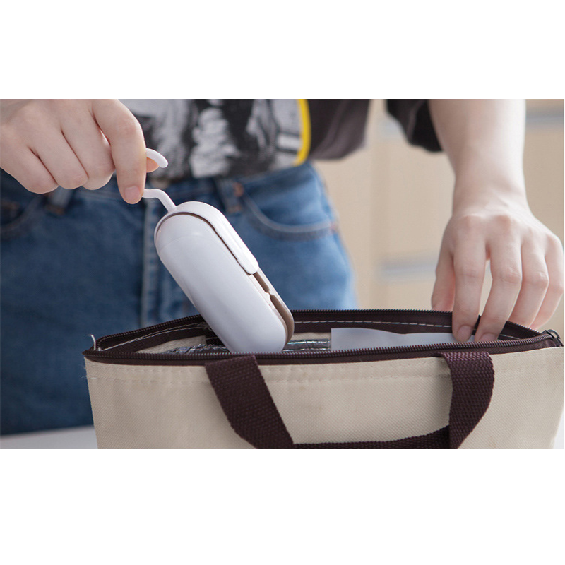 HOT best Portable Mini Sealing Household Machine Heat Sealer Capper Food Saver For Plastic Bags Package Mini Gadgets