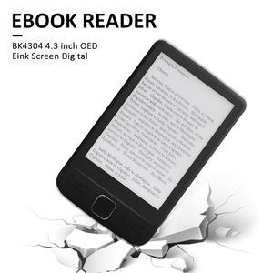 Image 2 - BK4304 4,3 дюймовый OED Eink экран цифровой смарт электронная книга читатель дети чтение обзор электронная книга портативный смарт электронная книга ридер электронная книга книга электронная