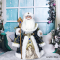 Santa Claus Doll Plush Christmas Day Decoration Ornaments Navidad Candy bucket New Year Gifts for Kids Plush Scandinavian