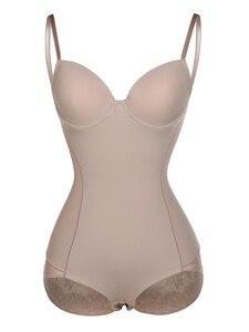 Image 1 - Женское корректирующее белье с открытой промежностью, Корректирующее белье с кружевной отделкой