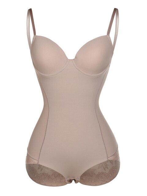 Женское корректирующее белье с открытой промежностью, Корректирующее белье с кружевной отделкой