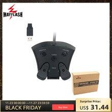 Mayflash Magie Pack für PS4 Controller Encoder FPS Adapter mit MODS und Paddel Für PS4