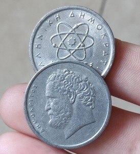 Греческая монета 26 мм, 100% настоящая Подлинная монета, оригинальная коллекция