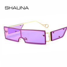 SHAUNA Summer Styles Fashion Small Rectangle Sunglasses Wome