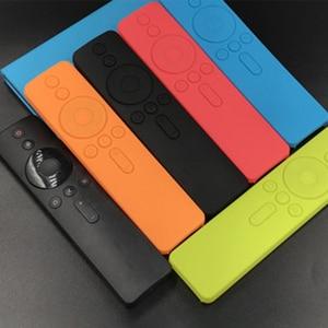 Remote Cases For Xiaomi 4A Voice Soft Silicone Protective Case for Mi Remote Rubber Cover for Xiaomi Remote Control Mi TV Box