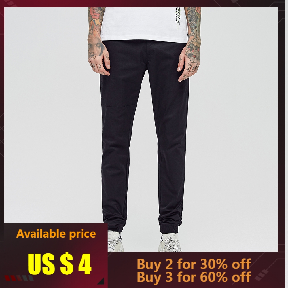 Trousers Sport-Pants Slim-Fit Chinos Metersbonwe Jogging Male Fashion New Autumn Spring