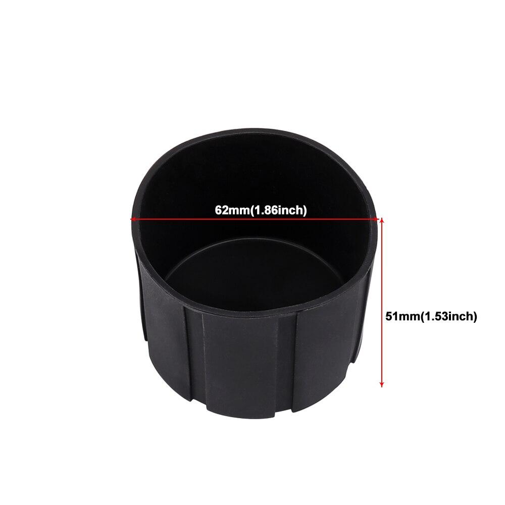 62x51mm Black//Gray Universal Lens Cap for Camera Lens Waterproof Protection Camera Lens Cover Diameter