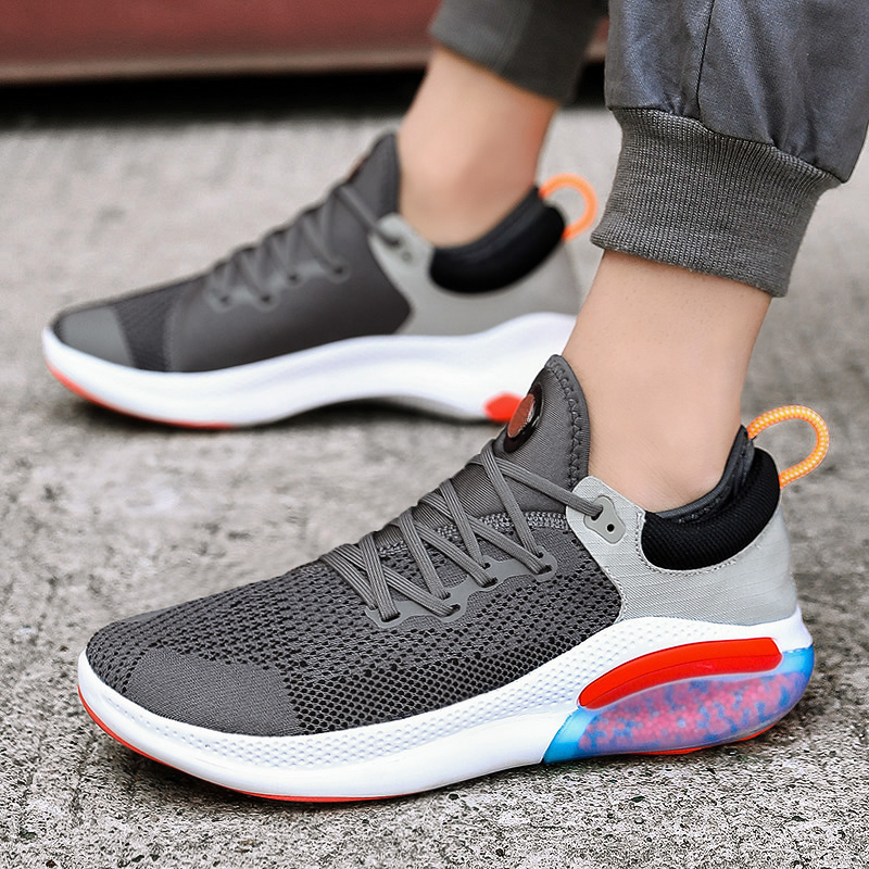Mens Casual Athletic Sneakers Outdoor Breathable Comfothable Air Cushion Sports Training Shoes