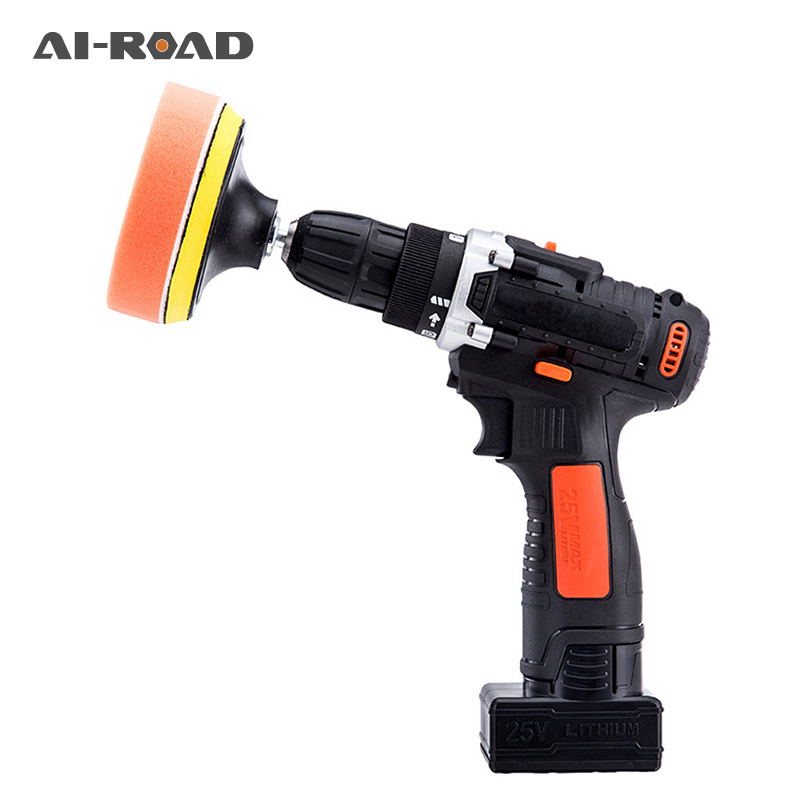 16.8V Wireless Car Polisher Electric Screwdriver Drill Cordless 180W Power Grinder M10 Polishing Machine Grinding Sanding Tool