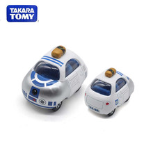 TAKARA TOMY Tomica Car Cartoon Cute Anna Stitch Diecast Metal Vehicle Modle Toy for Children Gifts(China)
