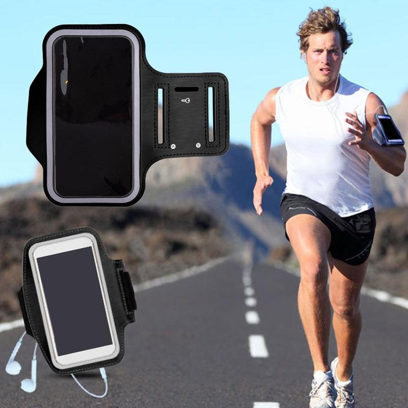 Outdoor Sports Arm Bag Running Fitness Wrist Bag 4 To 6 Inch Mobile Phone Universal Arm Strap Cycling Portable Arm Bag