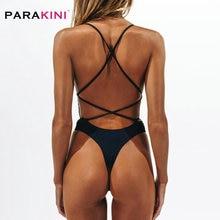 Swim-Suit Monokini Thong Backless Swimwear High-Cut Women Female Sexy Beach for One-Piece