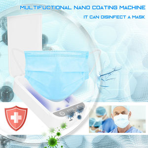 Image 2 - Casa telefones de limpeza máscara facial desinfecção uv smartphone esterilizador caixa aromaterapia desinfetante caixa nanotecnologia