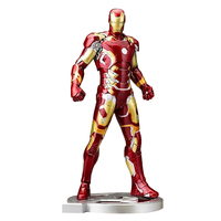 Marvel Legends Avengers Age Of Ultron Luminous Mk43 Iron Man Action Figure Movie Model Toys For Children Gifts Collection Toys