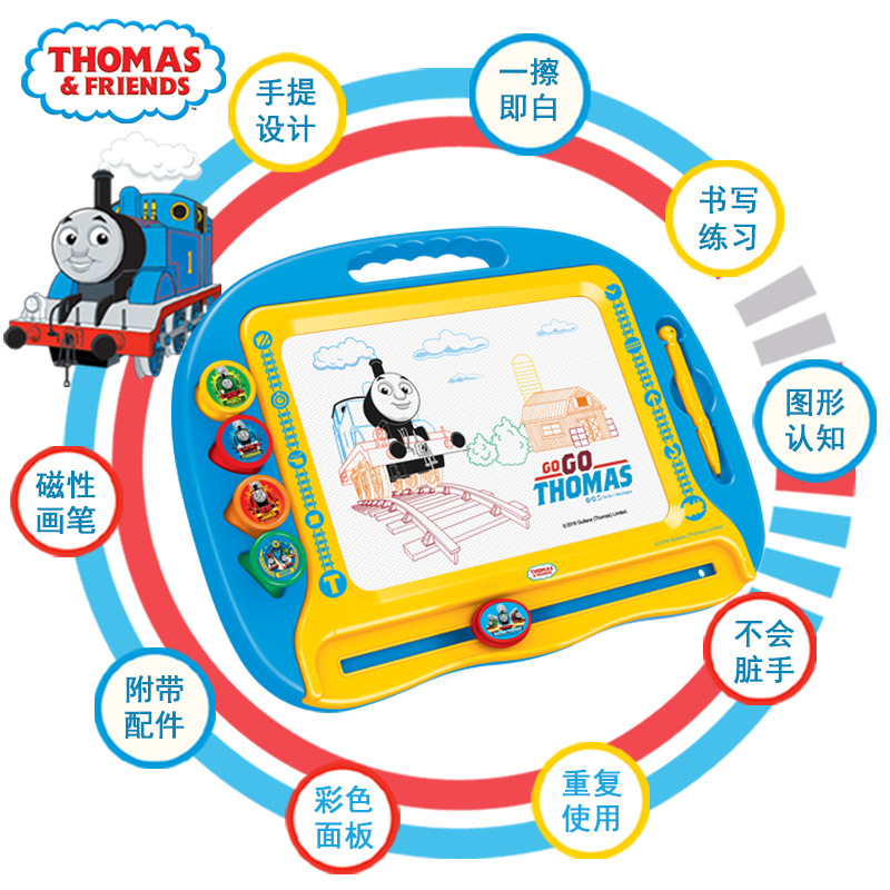 Thomas Children Play With Pen Infant Graffiti Baby Small Blackboard With Magnetic Color Sketchpad Writing Board T002