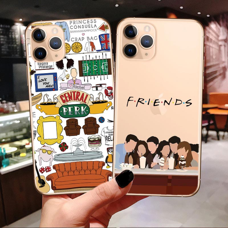 Central Perk Coffee Friends Tv Show Phone Case For Iphone 11 Pro Max X XR XS Max 7 8 6 6S Plus How You Doin Tpu Back Cover Shell