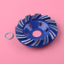 4 Inch Blue Diamond Metal Angle Grinding Chain Wheel Wood Carving Disc Grinder 10 cm