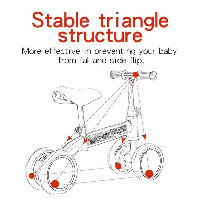 Kids Balance Bike | Happy Baby Mama