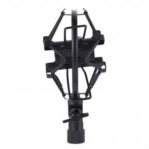 Image 5 - Metall Shockmonut Studio Aufnahme Mikrofon Shock Mount Spinne Mic Halter Clip