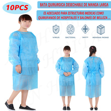 Overalls Isolation-Clothing Laboratory Disposable Waterproof PP PE And