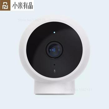 Xiaomi mijia AI Smart Camera Webcam Security Monitor Infrared Night Vision Home Dome Surveillance Cameras View Baby Monitoring image