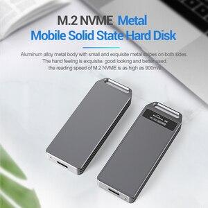 Blueendless M2 SSD чехол NVME корпус M.2 к USB Type C высокоскоростной жесткий диск для NVME PCIE SATA M/B Ключ SSD диск