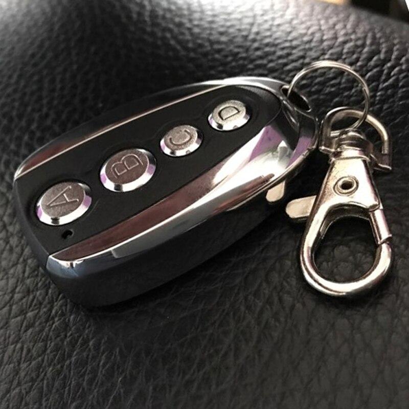 Universal Remote Control Key Fob LED Lights Clone Cloning Electric Gate Garage Door Controller Duplicator