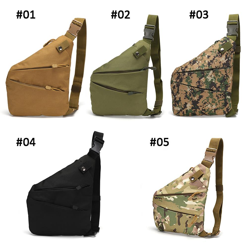 Tactical Chest Bag Camping Lightweight Practical Tactical Package Outdoors 800D Oxford Cloth Portable Sports Crossbody Bag