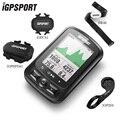 IGPSPORT ANT + GPS Fietscomputer IGS618E Bluetooth Snelheidsmeter Draadloze Waterdichte Fiets Digitale Stopwatch Fietsen Accessoires