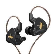 KZ EDX 1 dynamique dans l'oreille écouteurs HIFI basse casque en cours d'exécution Sport écouteurs casque écouteurs KZ ZST ZSN PRO