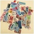 78 шт./лот, наклейка на ярлыки для винтажных билетов, DIY альбом для скрапбукинга, альбом, мусорный журнал, счастливый планер, декоративные накл...