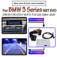 Adaptateur dinterface pour caméra de recul avec écran Original, pour BMW série 3, E90, E91, E92, E93, F30, F31, F34, G20, 2004 ~ 2020