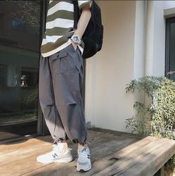 Мужские тренировочные брюки, повседневные облегающие штаны-шаровары в стиле хип-хоп, новинка весны 2019