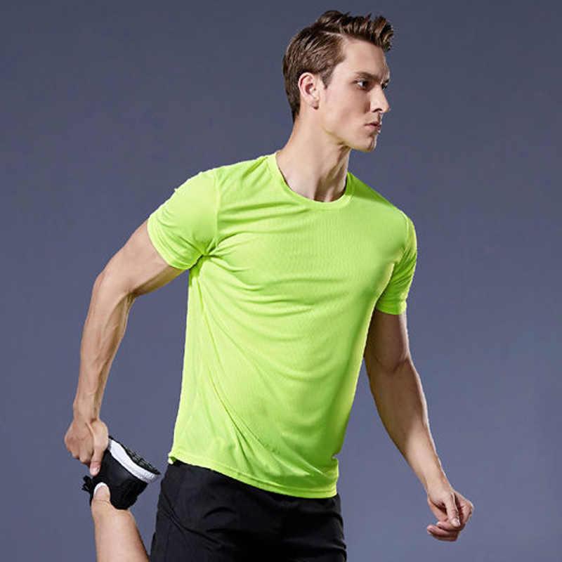 ผู้ชายเสื้อยืด,Quickแห้งกีฬาเสื้อยืด,ฟิตเนสยิมวิ่งเสื้อ,เสื้อฟุตบอลชายJerseyกีฬาบาสเกตบอล