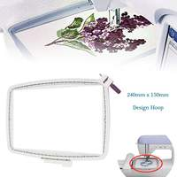 Sew Tech Embroidery Hoop for Husqvarna Viking Embroidery Machine Frames for Designer Ruby DeLuxe Designer VK102 Embroidery Frame