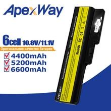 Apexway bateria do laptopa LENOVO L08L6Y02 a3000 L08S6C02 LO806D01 L08L6C02 L08N6Y02 G430 G450 G455A G530 G550 G555 L08O6C02