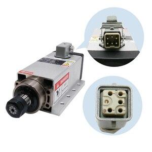 Image 4 - free shipping CNC 220V 380v 2.2KW Square Air Cooling Spindle  2200w Air cooled Milling Spindle +  VFD Inverter + 13pcs/set ER20