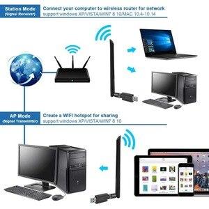 Image 4 - MTK7601 Wireless USB WiFi Antenna Network Youtube Adapter receptor GTMEDIA v7s satellite Receiver DVB S2 DVB T2 TV Box Internet