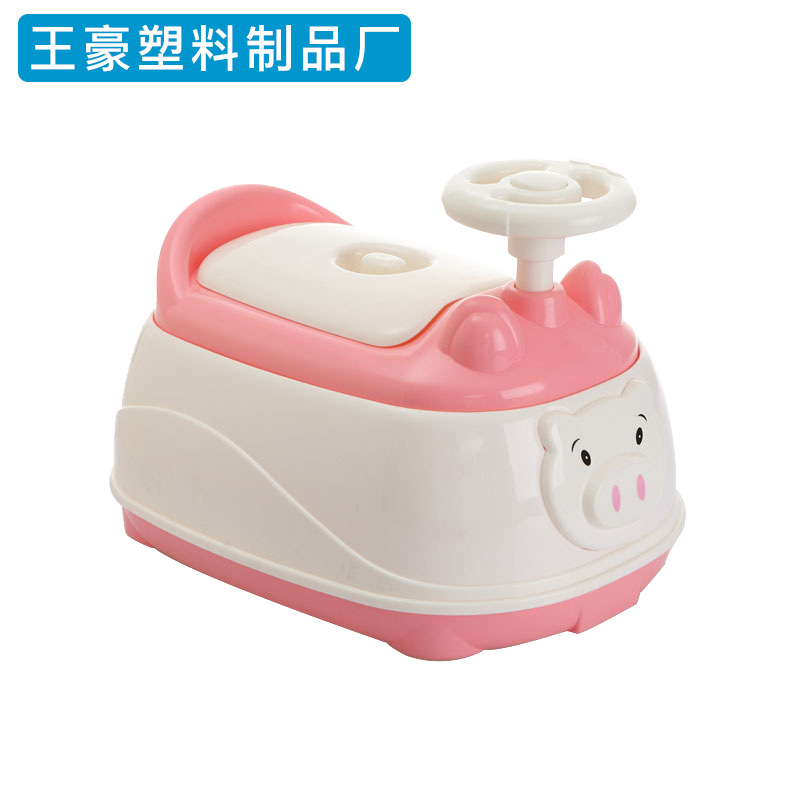 With Music Children Small Chamber Pot Infants Urinal Bedpan Large Size 1-6-Year-Old Kids Pedestal Pan