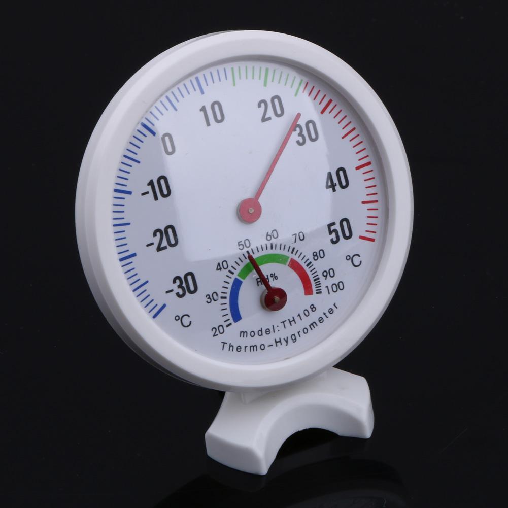 Mini Thermometer Hygrometer Bell-Vormige Lcd Digitale Schaal Voor Thuis Kantoor Muur Promotie Mount Indoor Temperatuur Meet Gereedschap 5