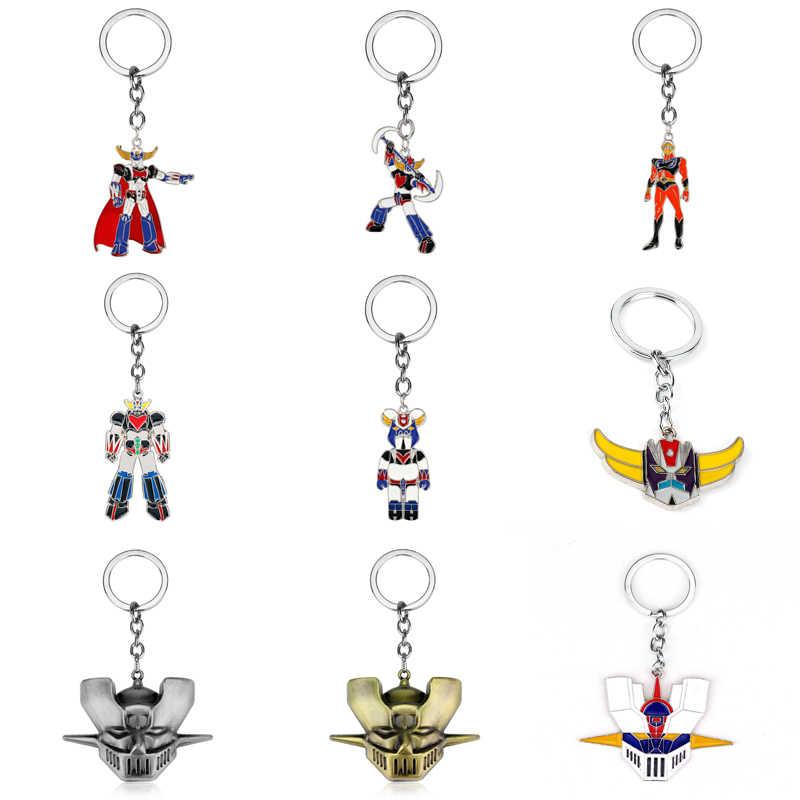Mazinger Z Head Alliage exquis Pendentif Anime Collier pendaisons Cosplay Cadeau